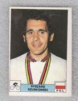 Sticker cycling Ryszard Szurkowski Poland Olympic Montreal 1976 Panini D Novine