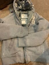 NWT Gray Men's Abercrombie & Fitch Grindstone Creek Jacket Size Medium