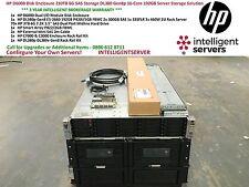 HP D6000 Disk Enclosure 210TB DL380p Gen8 16-Core 192GB Server Solution QQ695A