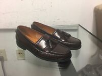 Mens Shoes Size 7.5 M French Shriner Tassel Loafer Dress Shoes Hand Crafted