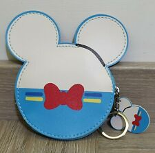 Donald Duck Disney Inspired Coin Purse Wallet With Keyring