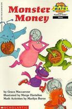 Monster Money (Hello Reader! Math Level 1) Maccarone, Grace Paperback