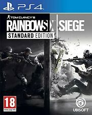 Tom Clancy's Rainbow Six Siege PS4 PlayStation 4 Video Game Mint Cond UK Release
