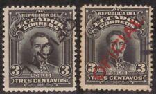 Ecuador,Oficial,Scott#O122,3c,one inveted overprint,MH