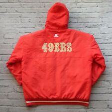 Vintage 90s San Francisco 49ers Parka Jacket by Starter Size XL