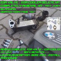 BMW N47 N57 EGR VALVE + EGR COOLER DELETE KIT - COMPLETE REMOVAL SEE DESCRIPTION