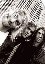 Nirvana   Posterflagge  - Band Shot(HFL0629) Nirvana Flagge - Kurt Cobain Flagge
