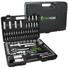 STARKMANN 94 teiliger Steckschlüssel-Satz Nußkasten Ratschenkasten Torx Werkzeug