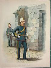 1905 ANTIQUE MILITARY PRINT HALIFAX GARRISON ARTILLERY~ BRITISH IMPERIAL FORCES