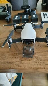 DJI Mavic Air Drone - Artic White fly more combo in good condition.