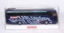 Wiking 714 10 40, Mannschaftsbus Karlsruher SC, 1:87, im Originalkarton #ab1099a