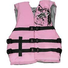 X20 Womens Universal Adult Life Jacket Ski Vest PINK Flotation PFD  S M L XL