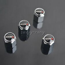 Car Tire Tyre Wheel Valve Stems Caps For Nissan Nismo All Model 4PCS/SET