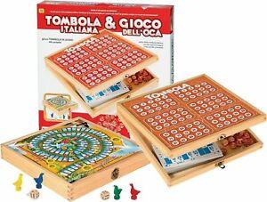 RSTA - TOMBOLA ITALIANA & GIOCO DELL'OCA  ANNI 5+ ART 8692