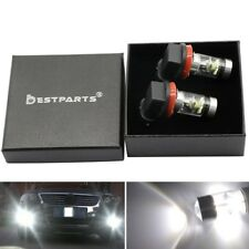 100W LED Fog Lights Bulbs  For 2007-2014 Toyota Camry  H16 H11 6000K White