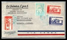 GP GOLDPATH: DOMINICA COVER 1952 AIR MAIL _CV427_P22