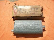 1962 Belvedere Sport Fury Dart 318 Dual Exhaust NOS MoPar SONO-6X MUFFLER