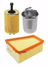 Pour skoda roomaster 1.4 tdi bnm, bms eng service kit huile air filtre a gasoil 06-10