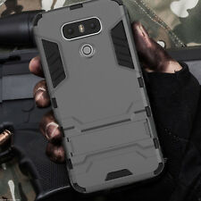 For LG G6 G5 G4 Hybrid Future Armor Hard Case Cover Phone Kickstand Shockproof
