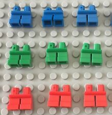 Lego New Short Legs / Green / Red / Blue Elf / Child Mini Figures Body Part X9