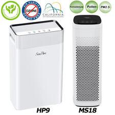 Air Purifier True Hepa Filter Large Room 825/900SqFt.Freshs Air Cleaner 3/4Stage