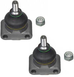Pair Set 2 Front Upper Moog Susp Ball Joints For Jaguar Vanden Plas XJ6 XJS XJR