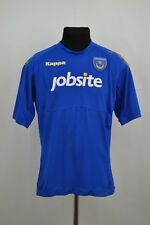 FC Portsmouth football shirt 2011 2012 home jersey Kappa Signed David Norris #19