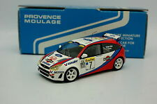 Provence Moulage 1/43 - Ford Focus WRC Martini Rallye Montar Carlo 1999 McRae