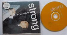 ROBBIE WILLIAMS - STRONG 1999 ENHANCED CD SINGLE.