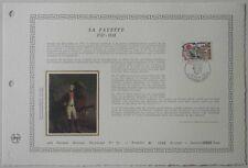 Document Artistique DAP 851 1er jour 1989 La Fayette Personnage Historique