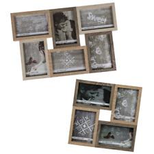 S67TV1 Mehrfachrahmen aus Treibholz für 5 Bilder 10x15 cm