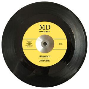 "Northern Soul - Dynamic Siblings / Karla Denning  ""I Bear Witness""   7"" Single"