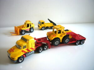 Matchbox Convoy/Construction set: Mack & other vehicles, super, made in Thailand