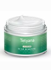 Tetyana Naturals Advanced Scar Removal Skin Repair Cream Treatment for Scars 1oz