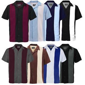 Open Box Men/'s Two Tone Button Cotton Blend Regular Fit Dress Shirt