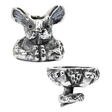Genuine Trollbeads Fantasy Mouse Pendant Charm Set TAGPE-00040 Brand New Boxed