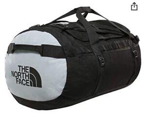 BNWT The North Face Gilman Duffle Bag -  Medium - Black /Grey