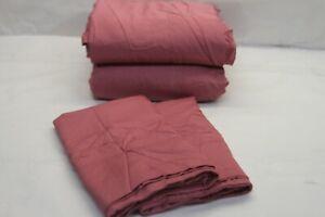 Northern Nights 100% Rayon From Bamboo Silky Smooth Sheet Set CAL KING ANTQ ROSE