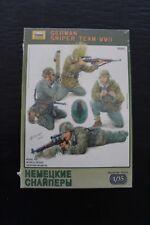 1/35 Zvezda 3595 German Sniper Team WW II New in Box with original shrink wrap