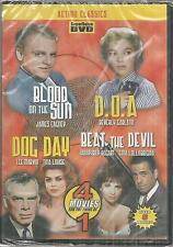 Action Clasics 4 Movies Blood on the Sun/D.O.A./Dog Day/Beat the Devil DVD New