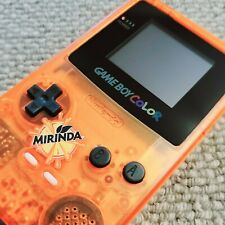 RESTORED, REFURBISHED, Game Boy Color Bright LCD Disp New Mirinda Edition Shell.