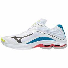 Mizuno Wave Lightning Z6 Unisex Volleyball Shoes White Black Blue V1GA200046 20G