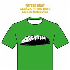 FETTES BROT - GEBÄCK IN THE DAYS-LIVE IN HAMBURG 2016  2 VINYL LP+DVD NEUF