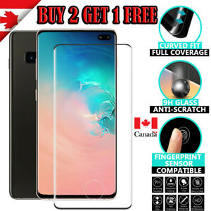 For Samsung Galaxy S10 / Plus S10e Case Friendly Tempered Glass Screen Protector