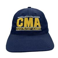 Vintage Culver Military Academy CMA Spell Out Embroidered Snapback Hat Cap