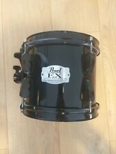 More details for pearl ex export series toms - black (8 inch and 14 inch) - used - good condition