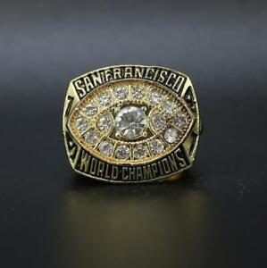 San Francisco 49ers 1981 Championship Ring Size 11 Holiday Gift