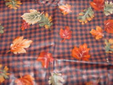 Made In Usa Longaberger Mint in Bag Maple Leave Su Liner Fall Gingham