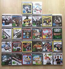 26 PS3 Spiele Playstation 3 Paket Sammlung Ridge Rager Fifa Heavy Rain NFS