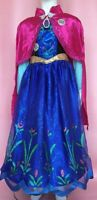 Disney Frozen Musical Anna Fancy Dress Costume plays For First Time age 5/6 Y